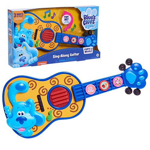 Blue's Clues & You! Sing Along Guitar $8.35 + Free Shipping w/ Amazon Prime or Orders $25+