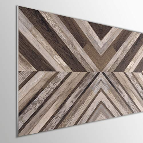 MEGADECOR DECORATE YOUR HOME Cabecero Cama PVC 5mm Decorativo Económico. Modelo - Arrowtown (115x60cm, Modelo 3)