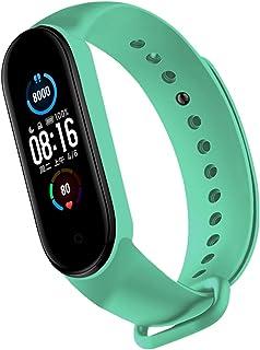 Strap for Mi Mi Band 6 5 4 3 2 Sport Wristband Silicone Bracelet Mi Band 4 Band5 Replacement Strap for Mi Band 6 Watch Ban...