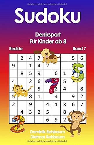 Redido Sudoku Kinder ab 8 | Denksport | Band 7