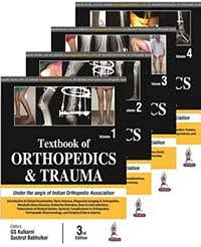 Textbook of Orthopedics and Trauma (4 Volumes) (English Edition)