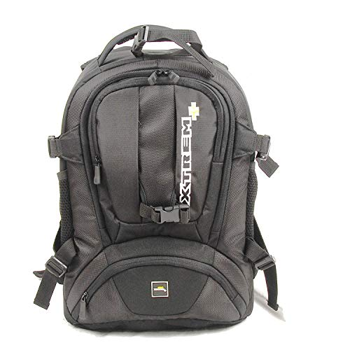 """Dynamik Shuttle M - XTREM+ XTREMplus Premium Fotorucksack  Kamerarucksack mit Zugriff über das Rückenteil \""""ohne Absetzten\"""" und \""""Diebstahl Schutz\"""" ( H:44cm B:30cm T:24cm Gewicht: 1,75 kg )"""