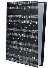 Baoblaze Partituras Carpetas Documento Papeles Archivador Amante de Músicas
