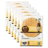 La Tortilla Factory Organic Yellow Corn Tortillas, 8-Count, 6 Packages