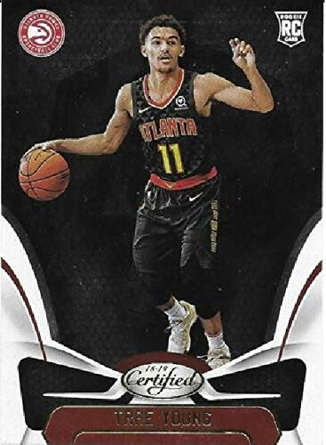 2018-19 Panini Certified - Trae Young - Atlanta Hawks NBA Basketball Rookie Card - RC Card #155