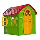 thorberg Spielhaus Maxi Kinderspielhaus extra groß 120x113x111cm (Made in EU) Kinderhaus
