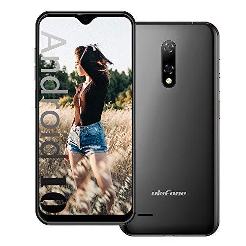 Android 10 4G Smartphone Offerta Ulefone NOTE 8P, 5,5   Waterdrop Schermo Telefono Cellulare, 2 GB + 16 GB, DUAL SIM + SD (3 Slot Per Schede), Sblocco Facciale, 8 MP + 2 MP + 5 MP, GPS - Nero
