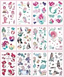 MXEHC Tatuaje 12 unids/Set 36 Tipos Temporal Pegatinas de Tatuaje para niños Dibujos Animados Impermeable Desechable Niños Partido Maquillaje Tatouage Temporaire Mangas de Tatuaje