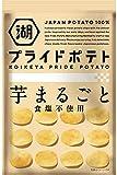 湖池屋 KOIKEYA Pride POTATO芋まるごと 食塩不使用 60g ×12袋