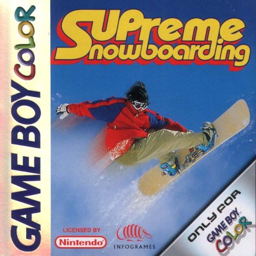 Supreme Snowboarden