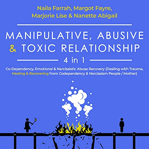 Manipulative, Abusive & Toxic Relationship - 4 in 1 cover art