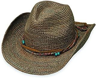 Women's Catalina Cowboy Hat – Raffia, Modern Cowboy, Designed in Australia