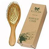 Brosse à cheveux en bois Neverland Anti-Démêlant statique Massage Peigne à poils rembourrés