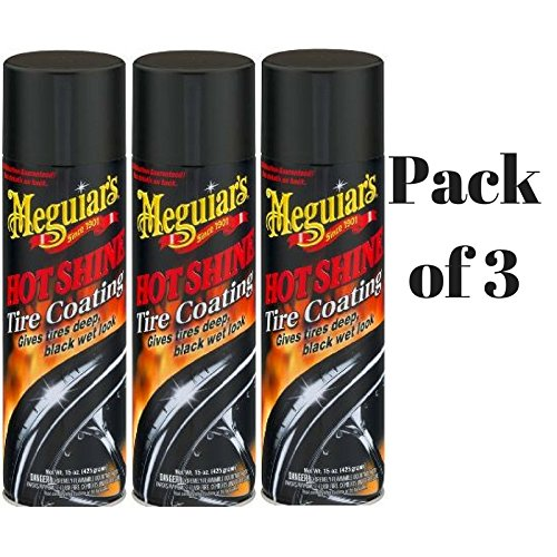 Meguiar's Hot Shine Tire Spray (15 oz) (Pack of 3)