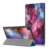 Acelive Funda para Samsung Galaxy Tab A7 10.4' Tablet 2020 SM-T505 SM-T500 con Trasera de TPU Suave Auto Sueño/Estela