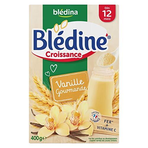 Blédina Bébé Bla Bla © Dina © Dine Wachstum Vanille Gourmande (DAS 12 Monate) Die Boîte Von 400G (6er-Set)