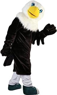 Langteng Svart örn lång hårig tecknad maskot kostym äkta bild 15-20 dagar leverans märke