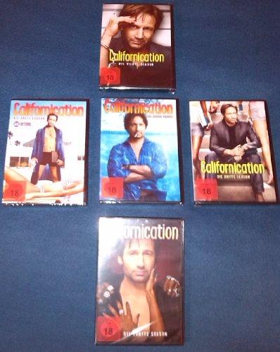 Californication Set 1-5 Staffeln 1+2+3+4+5, Bundle, Fsk18, David Duchovny, Rachel Miner, Pamela Adlon