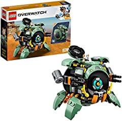 For anyone who loves Overwatch hero toys and buildable mech toys, this LEGO brick-built model can transform from a mech into an epic ball and is packed with authentic details from the in-game hero This LEGO Overwatch playset features a Hammond hamste...
