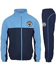 Manchester City FC - Chándal oficial para niño - Chaqueta y pantalón largos