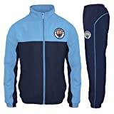 Manchester City FC - Chándal oficial para niño - Chaqueta y pantalón largos - Azul - 12-13 años
