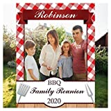 BBQ Family Reunion Party Prop, Family Reunion Photo Booth Frame, Selfie Station Backdrop, Reunion Photo Booth, Photo Booth Props Family Reunion, Photo Booth Cutout Frame Size 24x36, 48x36