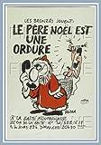 PostersAndCo  Le PèRE NOËL est Une Ordure Rvdm-Poster/Reproduction 40x60cm* d1 Affiche Vintage (BL*)