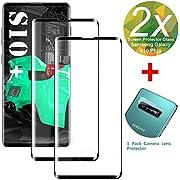 rongqdz Kompatibel mit Panzerglas Schutzfolie Samsung S10 Plus, [2 Stück] 9H Gehärtetem Glas Displayschutzfolie [Kamera Schutzfolie][Blasenfreie] Panzerglasfolie für Samsung Galaxy S10 Plus/S10P