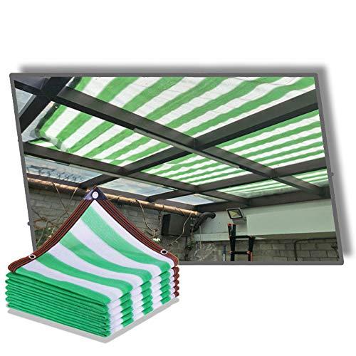 YJSMB Toldo Sombra, Malla Sombra Ligero Respirable Bloqueador Solar Durabilidad por Cochera Patio Pérgola Kiosko (Size : 6x10m/19.6x32.8ft)