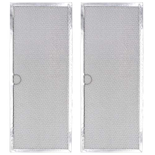 Range Downdraft Vent Grease Filter WP71002111 71002111 Downdraft Range Hood Filter Replacement by AMI PARTS - Replaces AP4089172, 580029, 7-15290, 715290, AH2077593 (2-Pack)