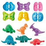 JHong Color Dough Toys Dinosaur World Dough Set Creations Tools for Kid with...