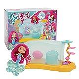 Seasters - Magico Playset Bubble Acquario, con una sirena speciale trasformabile e con funzione bolle, per...