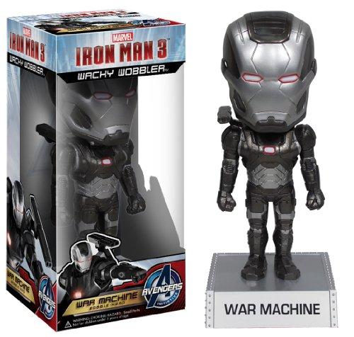 Marvel Homem de Ferro 3 - Boneco Funko Wacky War Machine 15cms