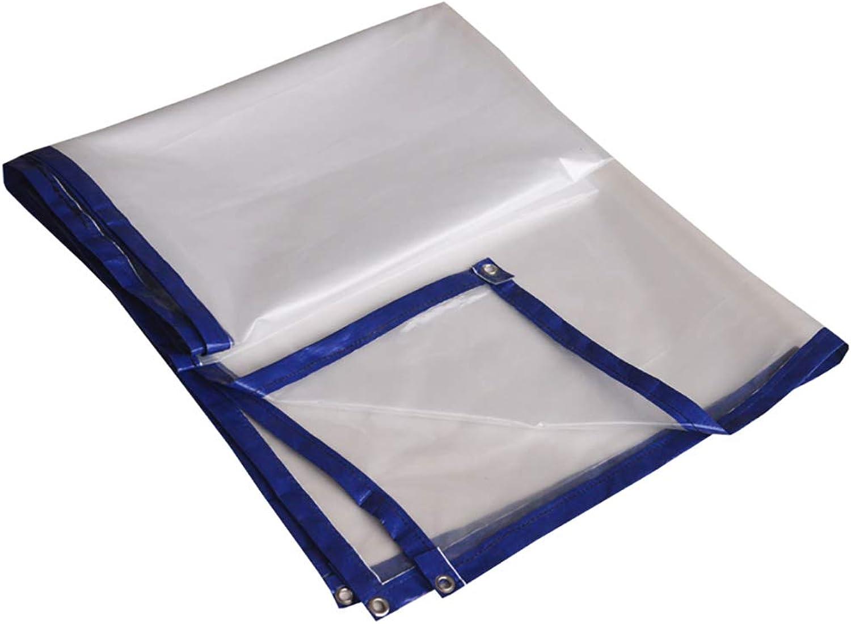 Im Freien Transparente Transparente Transparente Plane der harten Beanspruchung Wasserdichte Plane aufgefüllte regendichte Plane (Farbe   A, größe   3×4m) B07J9V57GG  Verpackungsvielfalt 3b2c76