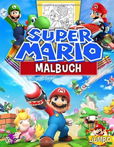 Super Mario Malbuch: Mario Brothers Malbuch Mit Exklusiven Inoffiziellen Bildern