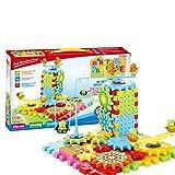 Spielzeugmodell pädagogisches Spielzeug, das Kinde 81 stücke elektrische getriebe bausteine set spielzeug pädagogisches spielzeug, ineinander greifen lustige bausteinziegelsteine, motorisierte spinn