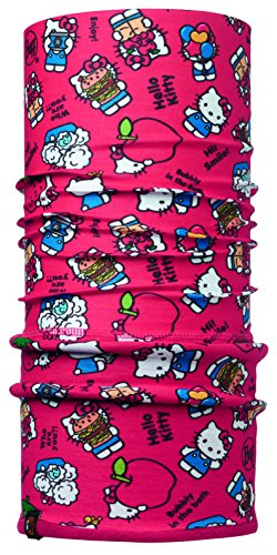 Buff BUF113206.425.10.00 Polar Jr Hello Kitty Unisex-Adult, Foodie Red/Samba, Taille Unique