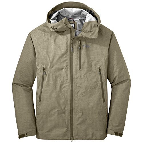Outdoor Research Men's Optimizer Jacket, Fatigue, Small