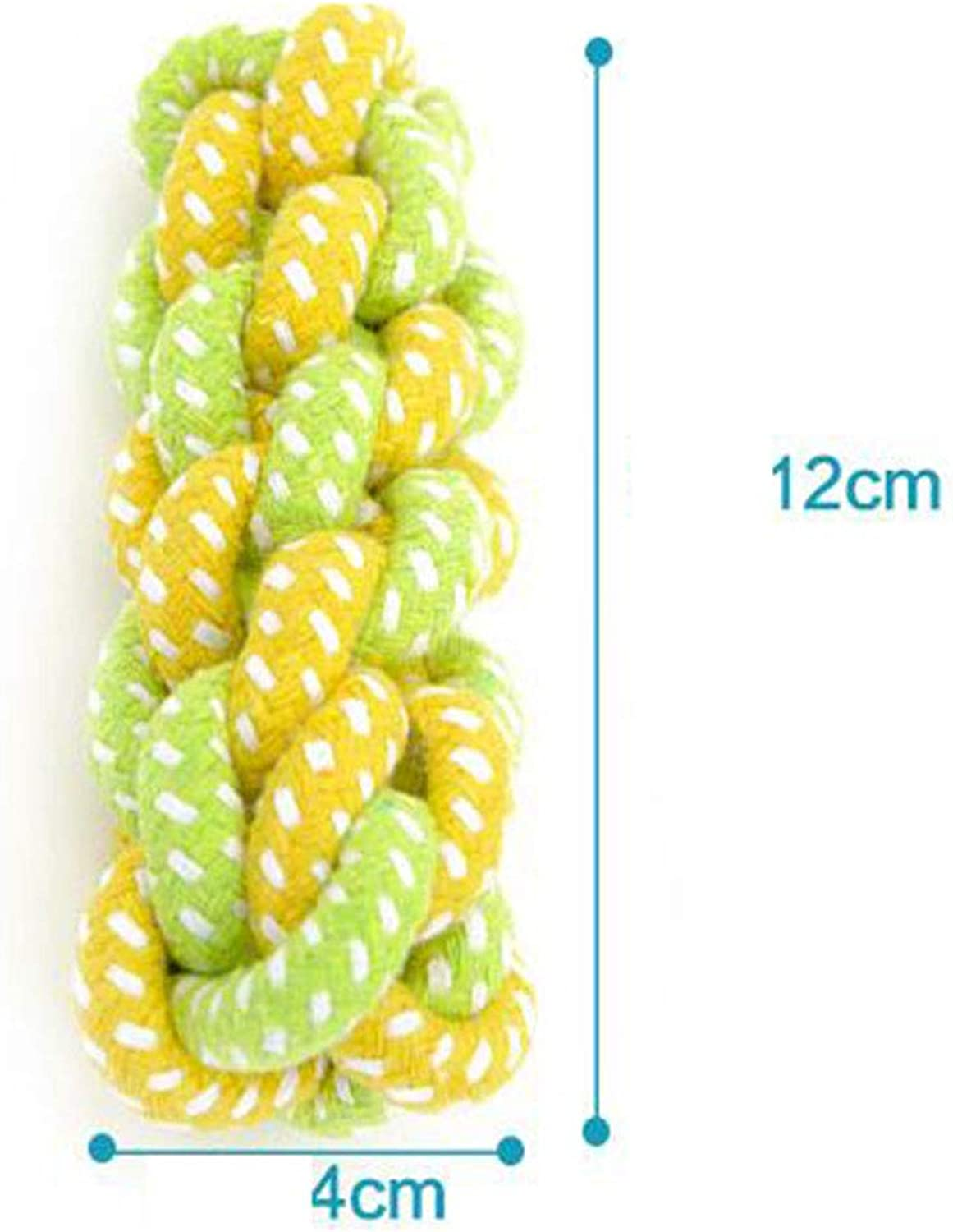 Dog Toy, Dog bite Rope Cotton Rope Molar Knot Toy Ball goldenhair Teddy Pomeranian Puppy Small Dog Toy Cotton Rope Toy,F