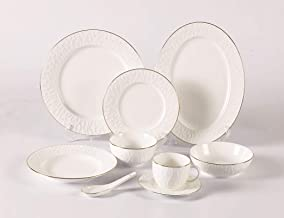 REEM DINNER SET, Porcelain, 49 PCS - GE70