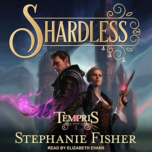 Shardless audiobook cover art
