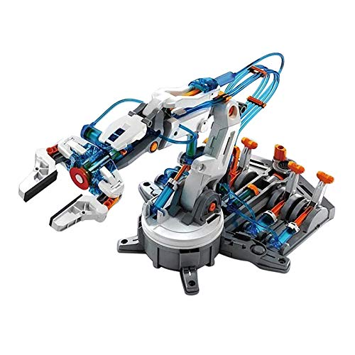 PIKAqiu33 Toy Model Ornament of Hydraulic Mechanical Arm, Education Toy, Toys and Hobbies (As Shown)
