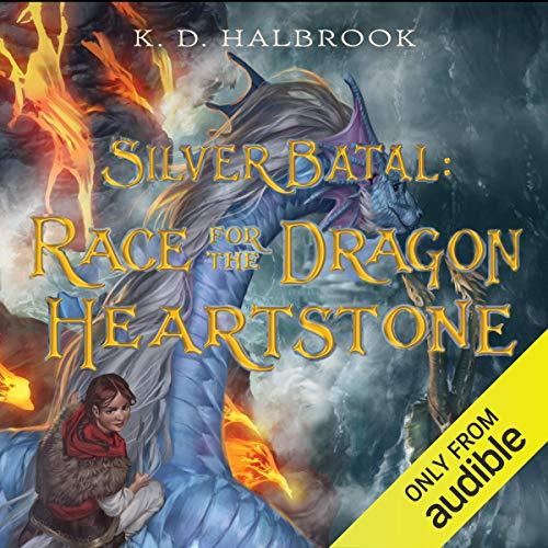Couverture de Silver Batal: Race for the Dragon Heartstone