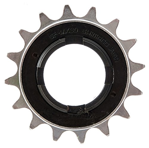 SHIMANO Freilauf DX 1-Gang-BMX-Räder Silber Silber 18 Teeth