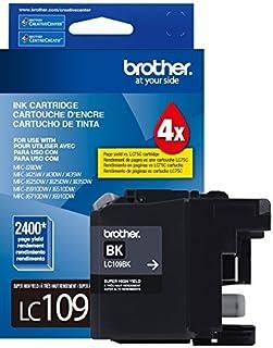 Cartucho Jato de Tinta Brother LC-109BK Preto MFCJ6520