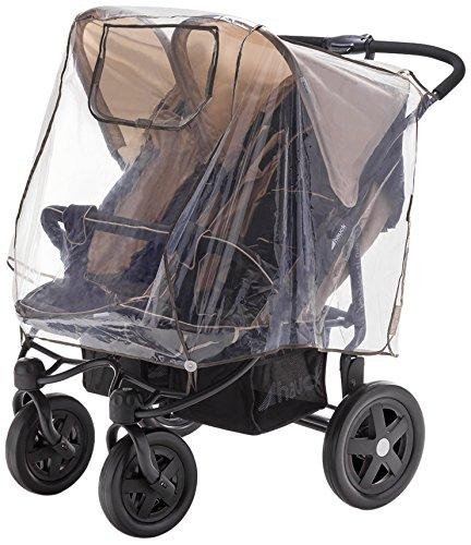 DIAGO 30008.75265 Komfort Regenschutz Zwillingswagen