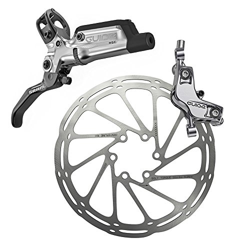 Sram Bremse Guide RSC-hinten Silber, 1800mm Leitung ohne Rotor/Adapter, 00.5018.098.003, One Size