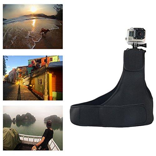 Navitech Haute Qualité bandoulière épaule strap mount compatible avec DMYCO 4K WIFI Ultra HD Waterproof Sports Action Camera 16MP