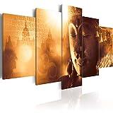 murando - Cuadro en Lienzo Buda Zen SPA 100x50 cm Impresión de 5 Piezas Material...