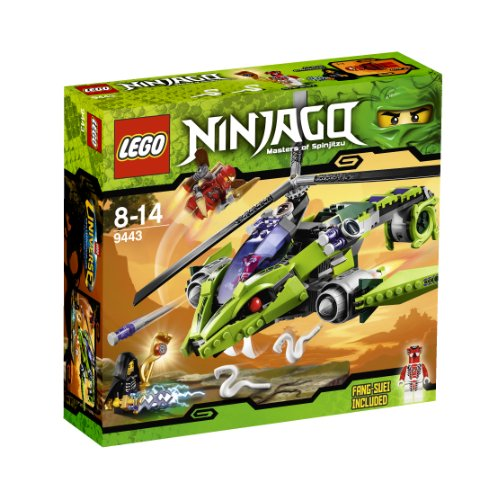 LEGO Ninjago 9443 - Helicóptero de Ataque